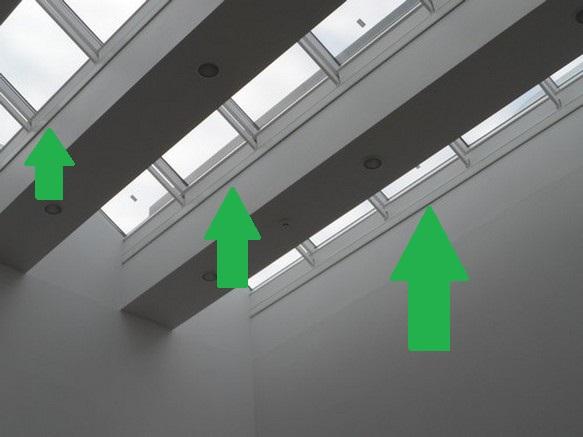 Elpan aan het plafond