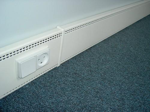 Elpan elektrische plintverwarming