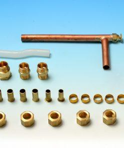 Wanpan koppeling met ventiel